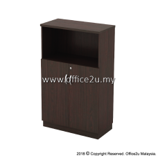 Q-YOD13-W SEMI SWINGING DOOR MEDIUM CABINET